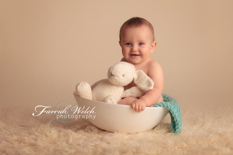 ashton, 8 months, santa clarita baby photographer