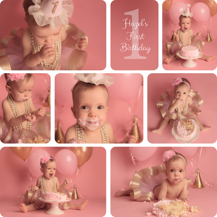 santa clarita cake smash photographer