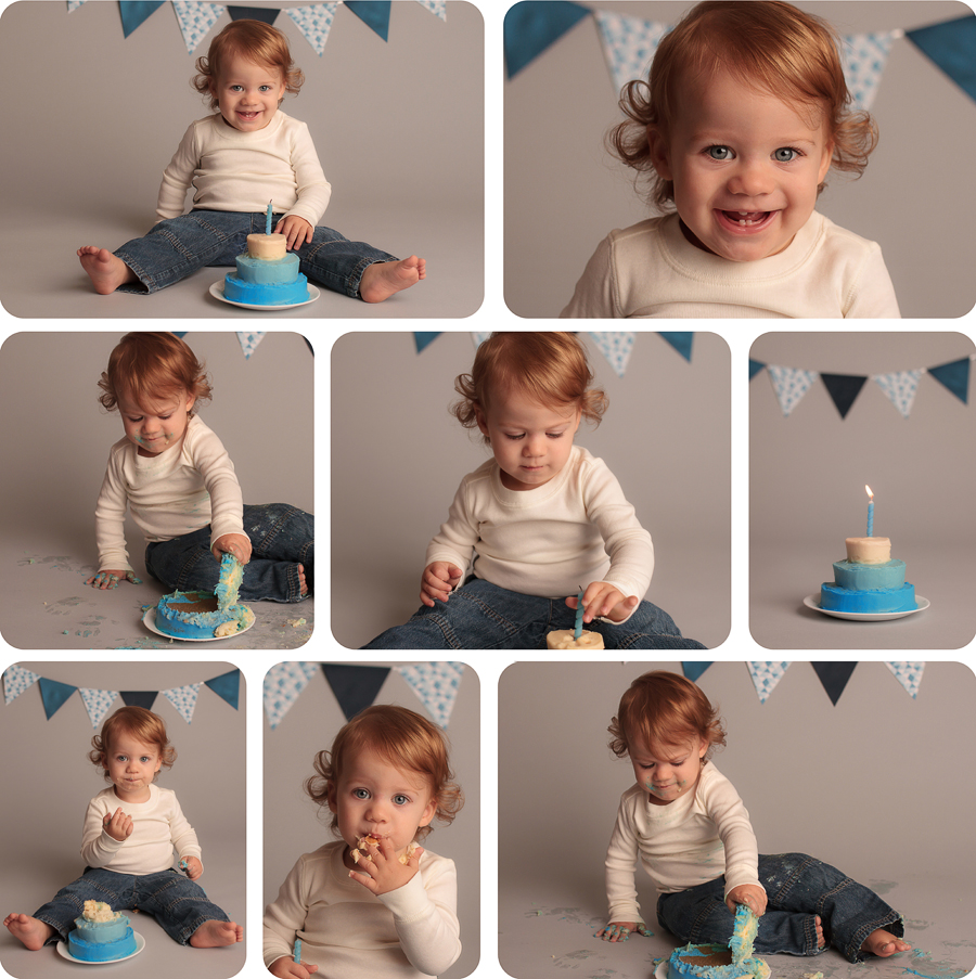 Santa Clarita Cake Smash Photography